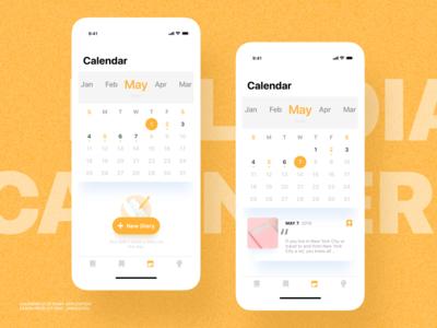 Bolo Diary - Calendar