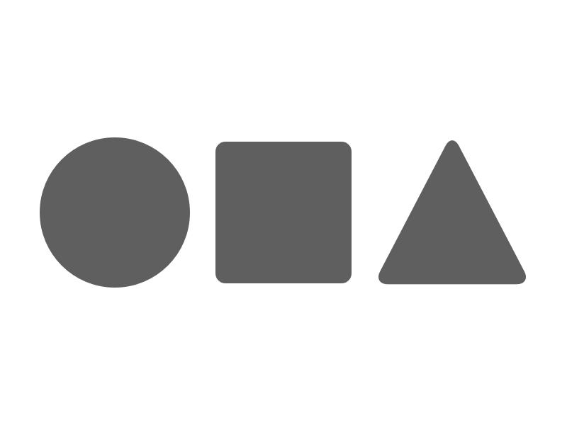 Personal logo shape geometric logo personal