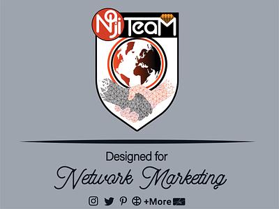 Network Marketing Logo typography iran vector design illustration networkmarketing network motion graphics graphic design ui branding logo