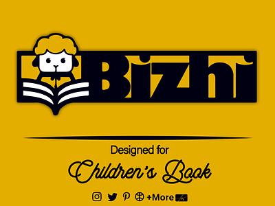 Children Book children book typography logo iran illustration graphic design design branding