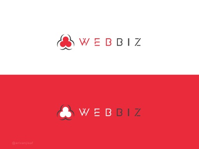 WEBBIZ | App logo app logo app icon minimal logo logo minimal brand flat creative logo branding logodesign