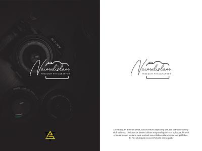 FREEDOM PHOTOGRAPHY  | PERSONAL LOGO signature logo camera logo photography logo design logo minimal brand flat creative logo branding logodesign