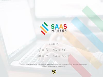 SASS MASTER | Webpage logo design logo minimal brand flat creative logo branding logodesign