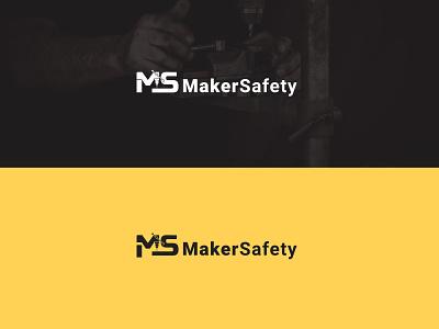 MakerSafety | Business logo personallogo wordmarklogo initiallogo logomaker minimal brand flat creative logo branding logodesign