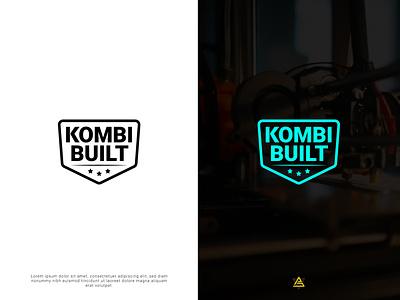 KOMBI BUILT | BUSINESS LOGO business logo personal logo design logo minimal brand flat creative logo branding logodesign