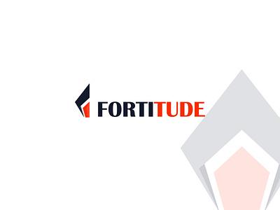 FORTITUDE | Personal logo minimal logo modern logo logo 2022 personal logo design logo brand minimal flat creative logo logodesign branding