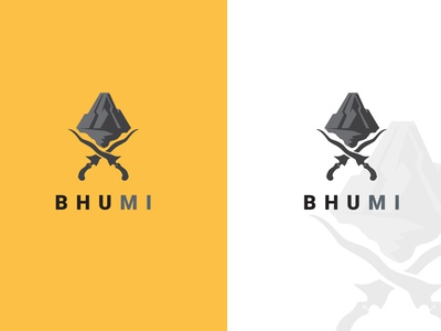 BHUMI | BUSINESS LOGO brand minimal flat creative logo branding logodesign