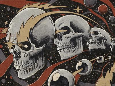 Racer traditional art comics psychedelic vintage retro space sketchbook moleskine art drawing ink illustration