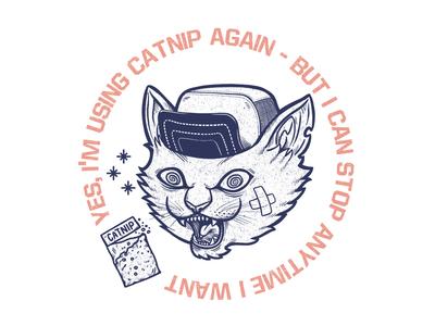 Catnip addicted