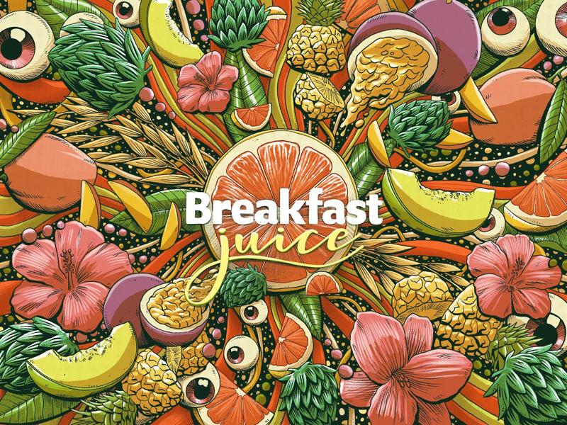 Breakfast juice by Pedro Correa on Dribbble