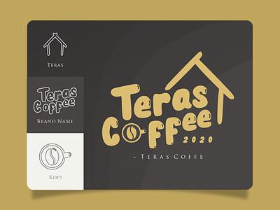 Logo Design : Teras Kopi logo graphic design branding