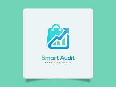 Logo Design : Smart Audit | Financial Company check audit smart financial finance avocado navy green pay logo free logo company trader trading store company logo design logo graphic design branding