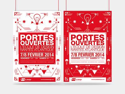 Open Days / École de design Nantes Atlantique open days edna ecole design school graphics