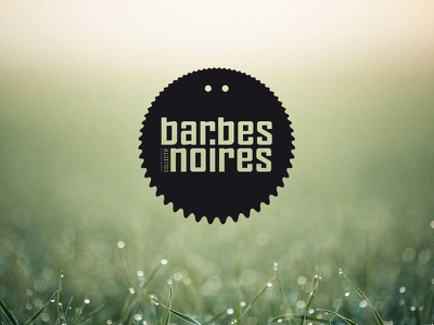 Barbes Noires barbes noires collective collectif graphism logotype