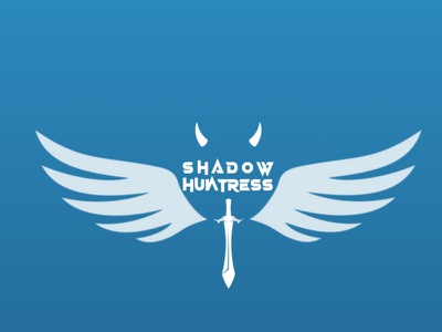 Logo Design For 'Shadow Huntress' illustration vector icon branding minimal logo design