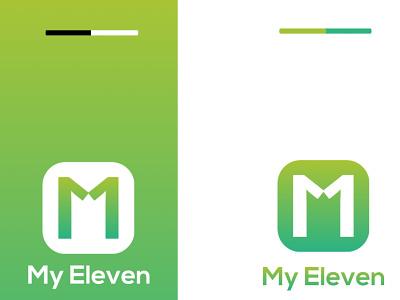Logo Design for 'My Eleven' design minimal logo