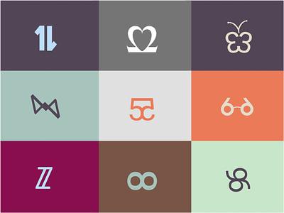Logofolio (vol.1) illustration icon minimal design logo