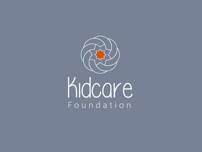 Kidcare Foundation branding icon minimal design logo