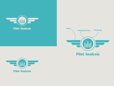 Logo Design for Pilot Analysis branding icon minimal design logo