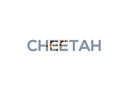 'CHEETAH' minimal design logo