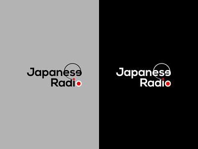 Logo Design for 'Japanese Radio' vector branding icon minimal design logo