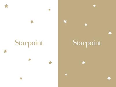 'Starpoint' branding minimal design logo