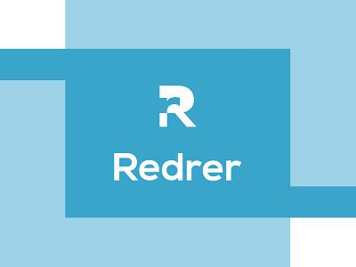Redrer logo design icon minimal design logo