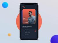 TennisTV - ATP Tournament UI Animation