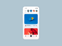 Photo Sharing App - pull to refresh loading animation pull to refresh sharing photo prototype madewithadobexd madewithxd animation interaction web ux ui product app tato mamulashvili design