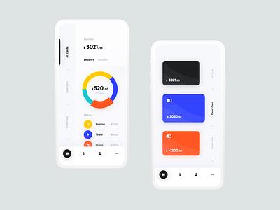 Mobile Bank bank bank card bank app dasboard design tato mamulashvili ux ui product app