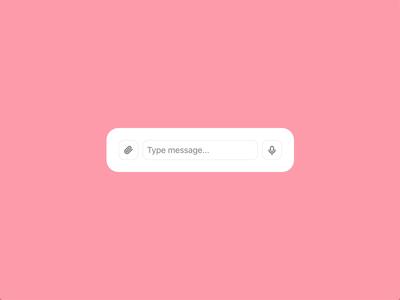 Cancel Voice Message Interaction feedc message voice voicemail madewithadobexd interaction animation ux ui app tato product mamulashvili design