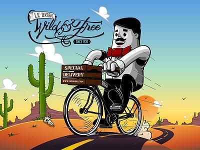 Le Barbu - Wild & Free mike barbershop bicycle rider easy easy rider free wild wildandfree lebarbu le barbu