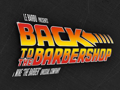 Le Barbu - Back To The Barbershop fan art cover comics back to the future bttf barbershop le barbu lebarbu