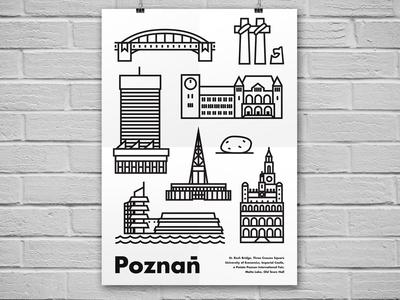 Poznan - poster