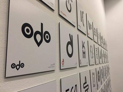 ODO logo at OWZG owzg symbols graphic exhibition polish second simple lettering contest design logo