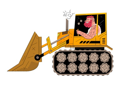 🚧HEAVY MACHINERY🚧 kids ginger car tattoo strong heavy reconstruction trucks