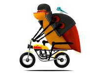 bug the motorbiker
