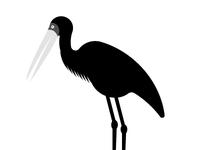 Minimal 11 - Stork