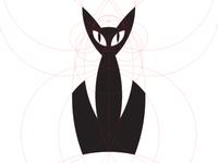 A minimalist serval