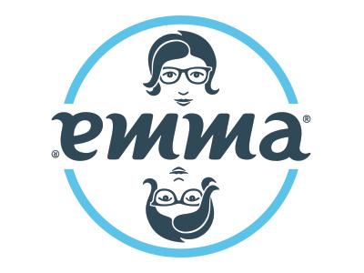 Emma's New Logo typography lettering ambigram logo logomark logotype identity redesign emma fun