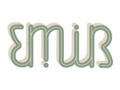 Emir ambigram