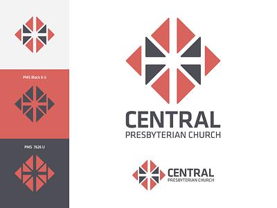 Central Presbyterian Church Rebrand identity rebrand logo mark symbol logomark church brand design