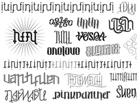 Ambigram Collection