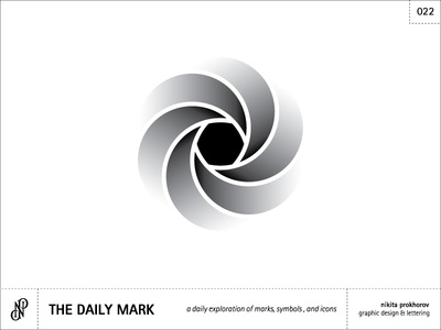 The Daily Mark 022 - Abstract Flower