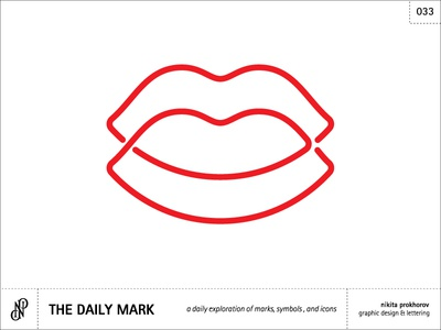 The Daily Mark 033 - Kissing