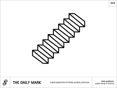 The Daily Mark 043 - Stairs...