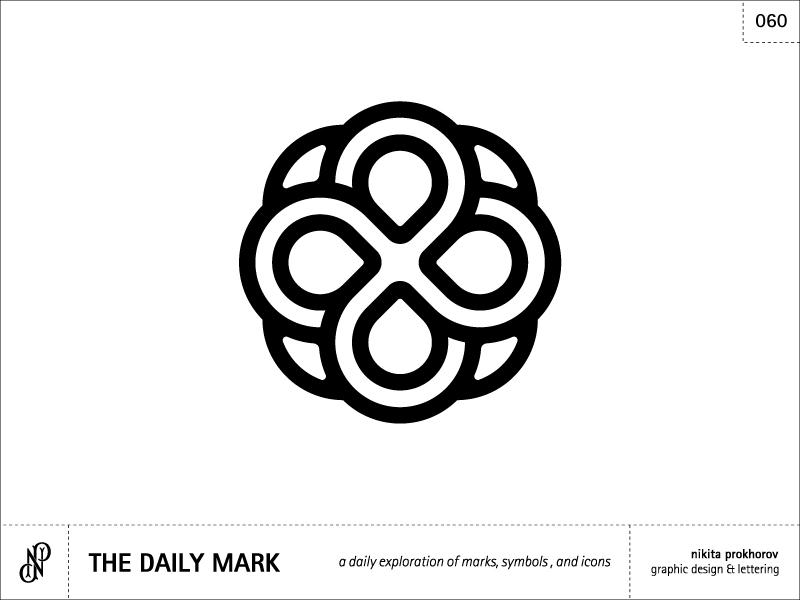 The Daily Mark 060 - Abstract 1 design logo illustration logomark mark icon symbol graphic design balance symmetry abstract