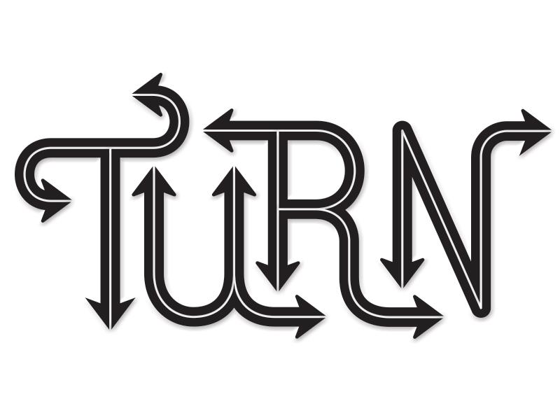 Turn dribbble
