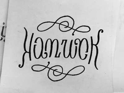 Ambigrams for Dribbblers // 6