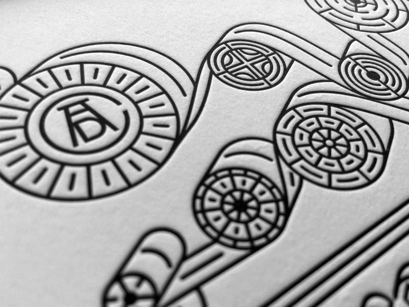Sneak Peek letterpress type typography lettering illustration branding event logo print design